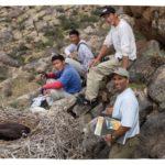 John Azua with Mongolian students
