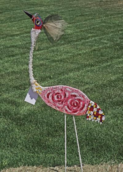 Yard-Art-Crane