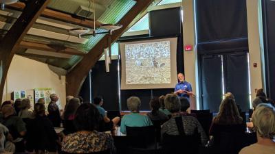 Paul Tebbel's talk: Why We Love Cranes