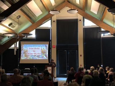 Steve Burrows talk: From Birder to Birder Murder