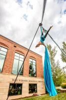 Crane Inspired Aerial Dancer